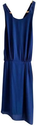 Elizabeth and James Blue Silk Dresses