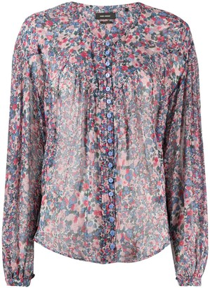 Isabel Marant Orionea printed blouse
