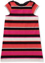 Kate Spade Bow-Back Striped Shift Dress, Size 2-6