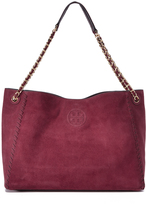Tory Burch Marion Suede Chain Shoulder Tote