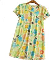Amoy-Baby Women's Cotton Blend Floral Nightgown Casual Nights M XTSY108