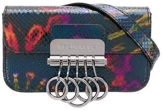 DSQUARED2 tie-dye printed belt bag