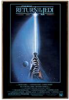 Star Wars Silver Buffalo SW6336 Return of The Jedi Movie Poster Wood Art Wall Plaque