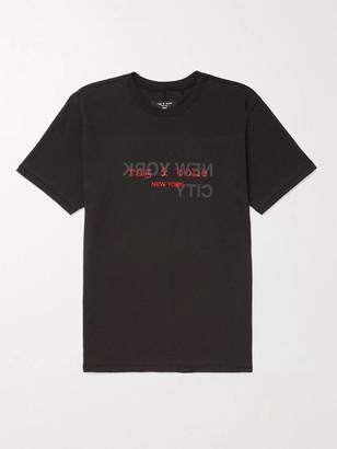 Rag & Bone Logo-Print Cotton-Jersey T-Shirt