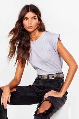 Nasty Gal Womens Crew Can Play That Game Cropped vest Top - Grey - 4