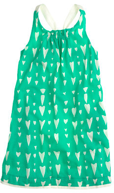 J.Crew Girls' A-line halter dress in heart