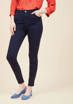 ModCloth Denim Done Right Jeans in Dark Wash in 29