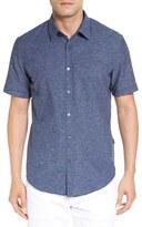 BOSS 'Ronn' Slim Fit Short Sleeve Sport Shirt