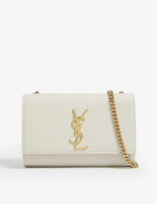 Saint Laurent Kate small monogram leather shoulder bag