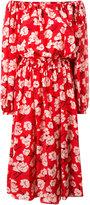 Rochas floral shift dress - women - Silk - 42