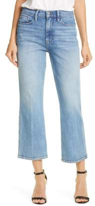 Frame Le Sylvie High Waist Kick Boot Crop Jeans