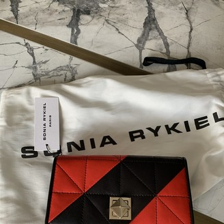 Sonia Rykiel Red Leather Wallets