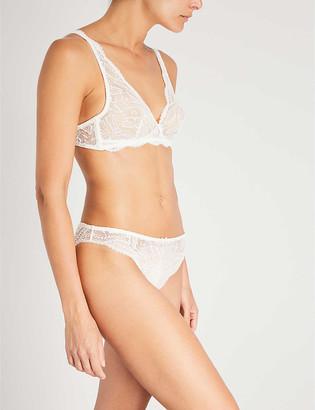 Simone Perele Eden Chic stretch-lace soft-cup bra