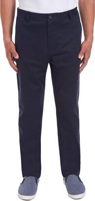 Chaps Uniform Young Mens Flat Front Pant Pants