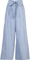 By Malene Birger Bennih wide leg trousers - women - Cotton - 38