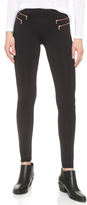 David Lerner Zip Leggings