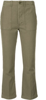 R 13 cropped cargo trousers