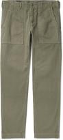 Alex Mill - Slim-fit Herringbone Cotton Trousers