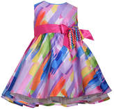 Bonnie Jean Sleeveless Multi Colored Dress - Baby Girls