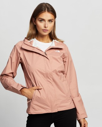 The North Face Women's Pink Parkas - Venture 2 Jacket - Size S at The Iconic