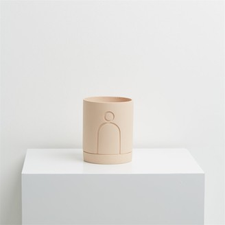 Capra Designs Etch Plant Pot Salt