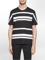 Calvin Klein Platinum Relaxed Fit Horizontal Stripe T-Shirt