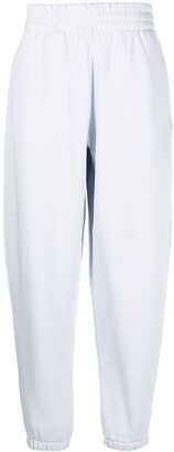 Alexander Wang Elasticated Straight-Cut Track Pants