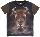 Molo Bull Printed Cotton Jersey T-Shirt