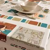 JIN Tablecloths Mediterranean Tourism Series Tablecloth/abrics Cotton, Linen Table Cloth/ European-style Tablecloths/ Table Cloth/ Cover Towels