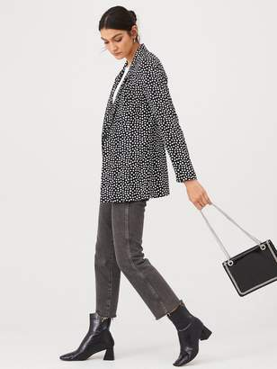 Very Printed Button Front Jacket - Spot