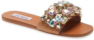 Steve Madden Brionna Embellished Slide Sandal