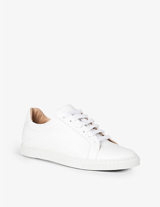 LK Bennett Jack leather low-top trainers