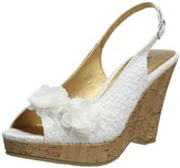 Chinese Laundry Women's Immortal Flwreylt Wedge Sandal