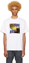 Noon Goons SSENSE Exclusive White 'Surf Riot' T-Shirt