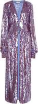 ATTICO Long Sequin Dress