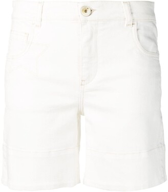 Lorena Antoniazzi White Summer Shorts