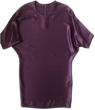 Amanda Wakeley Purple Silk Dress for Women