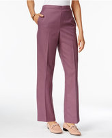 Alfred Dunner Palm Desert Straight-Leg Pull-On Pants