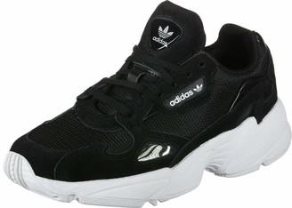 adidas Falcon W Women's Gymnastics Shoes Multicolour (Black Cblack/Cblack/Ftwwht) 7 UK (40 2/3 EU)