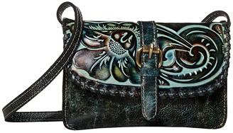 Patricia Nash Torri Crossbody (Turquoise/Multi) Cross Body Handbags