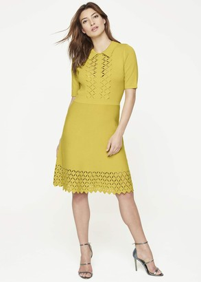 Phase Eight Liona Eyelet Detail Knitted Dress