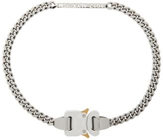 Alyx Silver ID Buckle Necklace