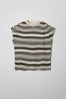 Weekday Prime Striped T-Shirt - Beige