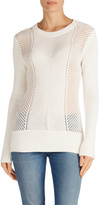 J Brand Sweetzer Sweater in Ivory