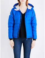 Canada Goose Ladies Blue Classic Camp Quilted Jacket
