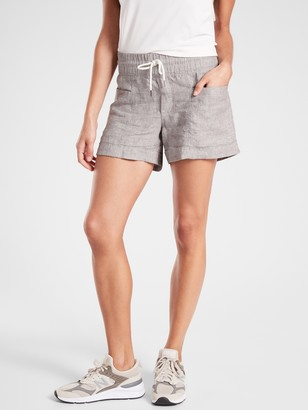 "Athleta Cabo Linen 4"" Short"