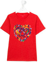 Stella McCartney heart print T-shirt - kids - Cotton - 14 yrs