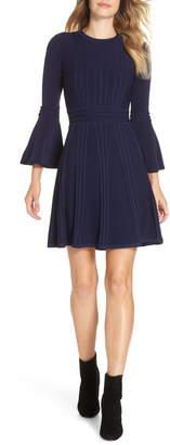 Eliza J Bell Sleeve Sweater Dress