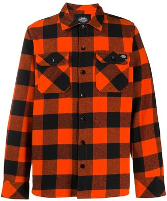 Dickies Construct Check Long-Sleeve Shirt