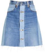 RE/DONE Seventies Box Levi's High-Waist Mini Skirt
